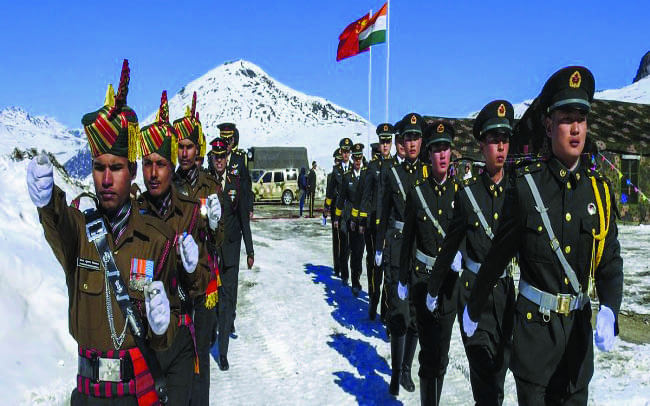 Indian, Chinese troops clash again