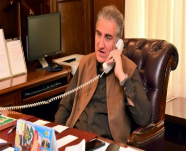 FM discusses bilateral ties, Afghan peace process with US Secretary of State