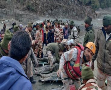 14 killed, 170 missing after Indian glacier breaks off
