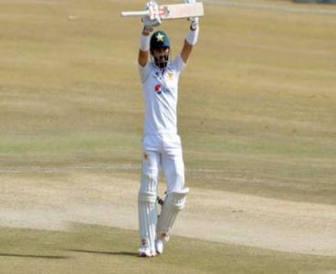 Pak Vs SA:  Maiden test century of Mohammad Rizwan