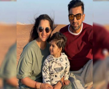 """Happy birthday to this guy who I can't live with or without"": Sania wishes Shoaib on his special day"
