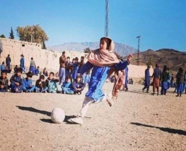 Waziristan 'football girl' stunned the internet with her viral picture