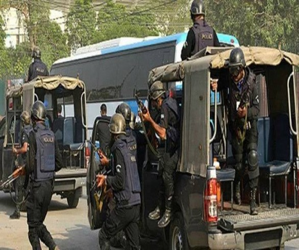 One terrorist killed five arrested in an encounter with CTD , Karachi
